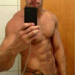 Sexy Muscle Man With A Hard Cock